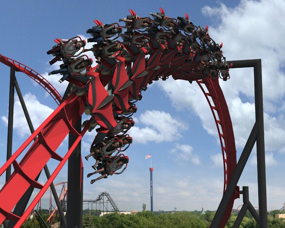 Six Flags Great America (outside Chicago)
