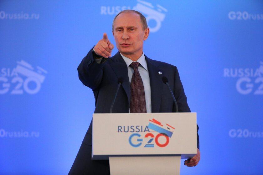G20 summit in St. Petersburg