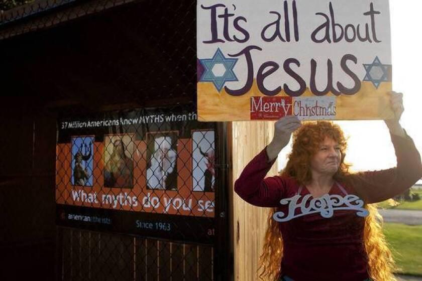 Santa Monica may bar Nativity scenes in public areas, judge rules