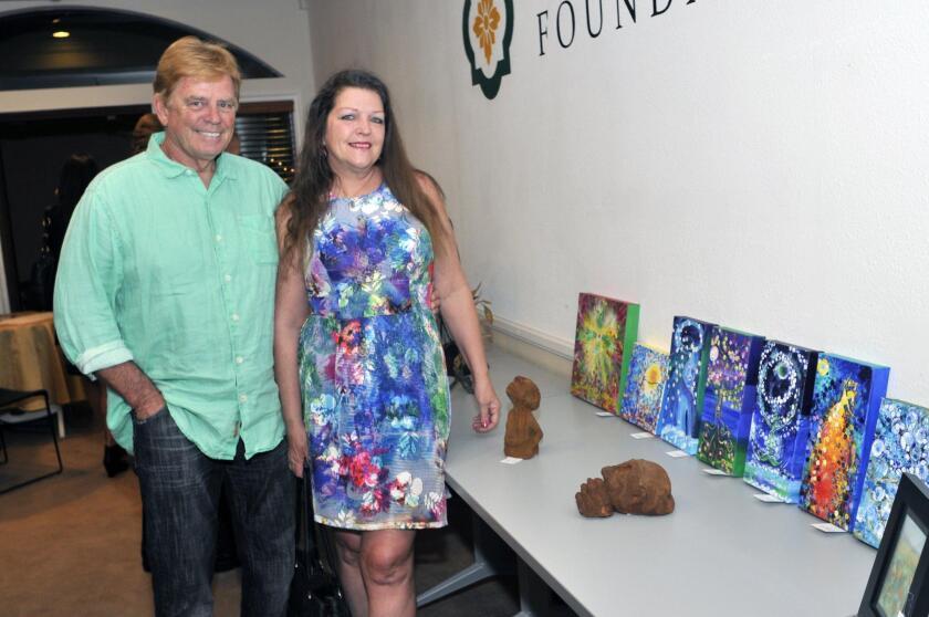 Greg and artist Tamara Daul