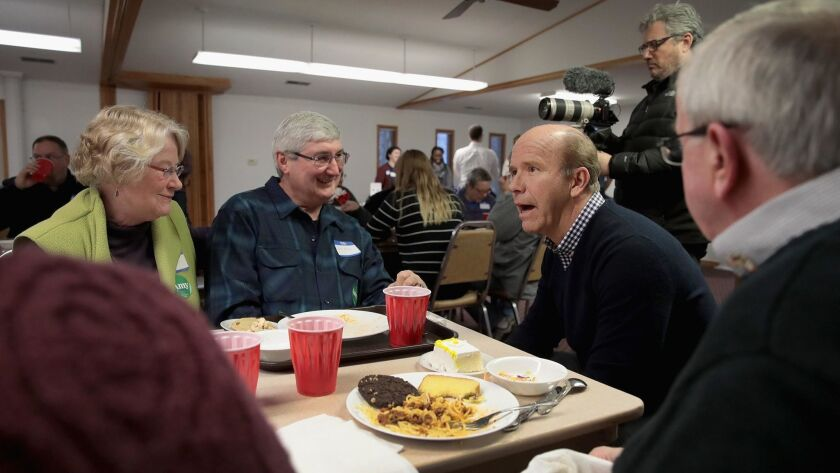 Democrats Campaign at County Fundraisers in Iowa
