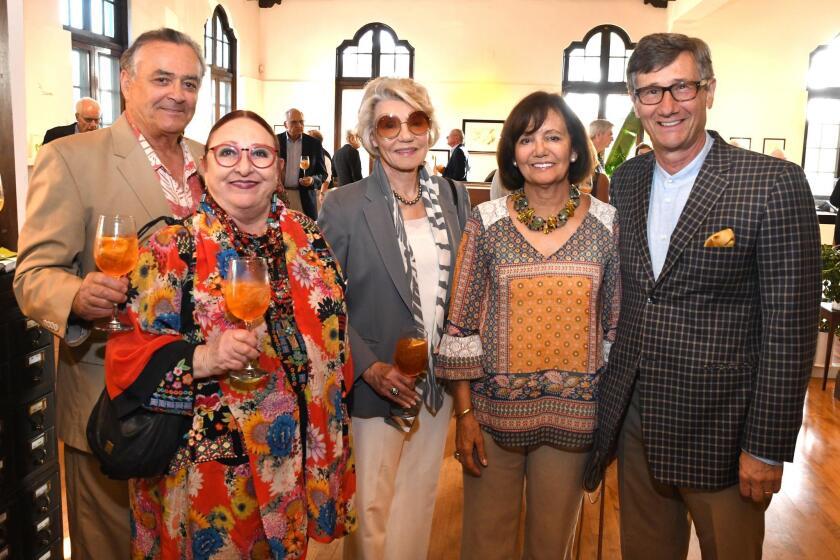 John and Dannie Sue Reis, Garna Muller, Maria and Philippe Prokocimer