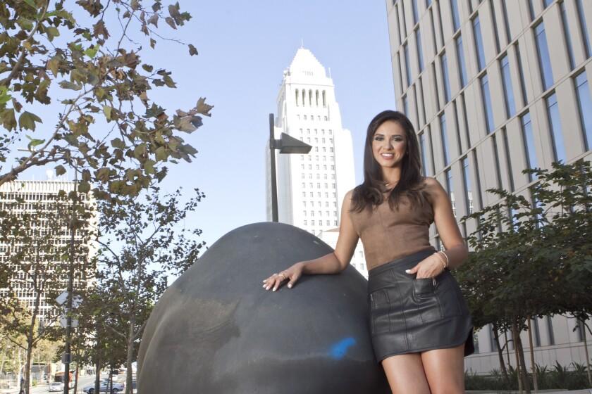 Ana Jurka es una de los rostros hondureños más importantes en la televisión en Estados Unidos.