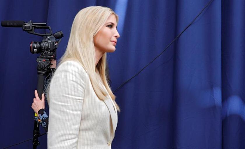 La asesora presidencial estadounidense Ivanka Trump. EFE/Archivo