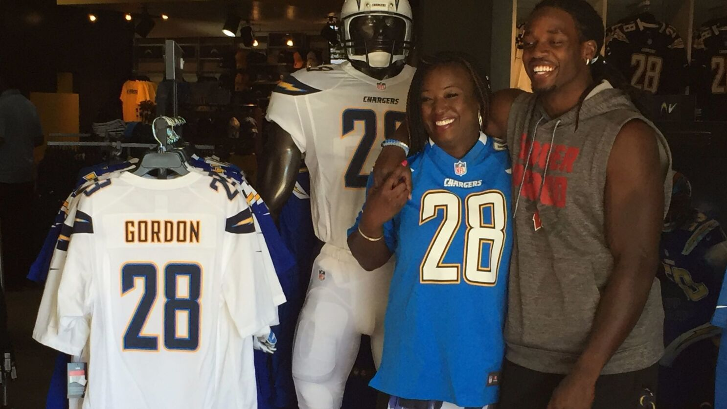 Melvin Gordon S Mom Suits Up For Son The San Diego Union Tribune