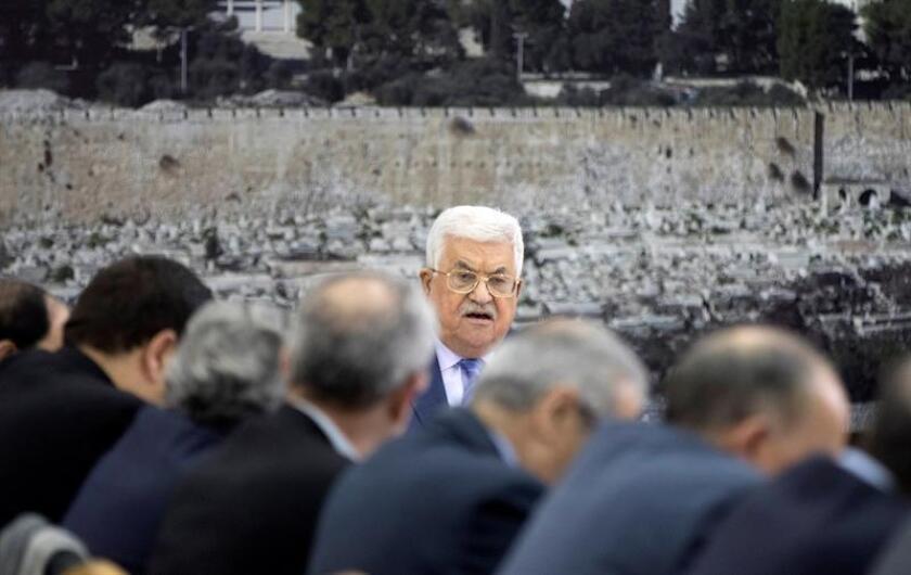 El presidente palestino, Mahmud Abás, hablará el próximo 20 de febrero ante el Consejo de Seguridad de la ONU, según anunció hoy este órgano. EFE/ARCHIVO