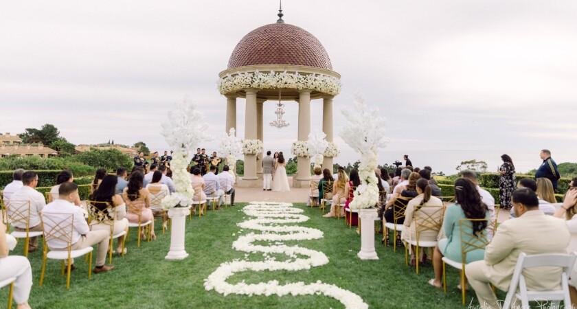 Cheli & Angel's Pelican Hill Wedding