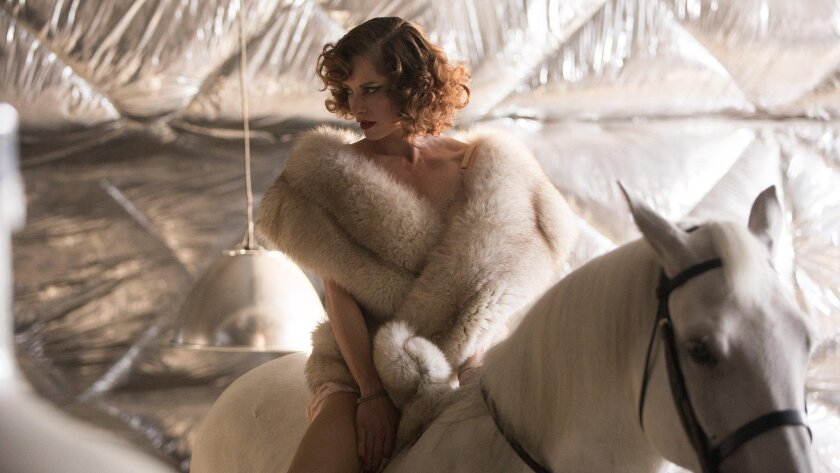 """Sienna Guillory in """"High Rise."""""""