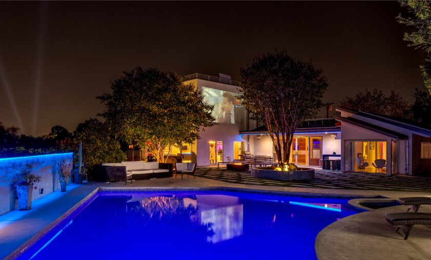Jeff Blue's Hollywood Hills home   Hot Property