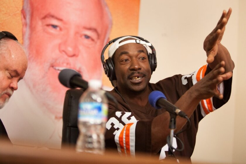 Charles Ramsey is interviewed for a radio show following the May 6 incident in which he helped in the escape of Cleveland kidnap victims.