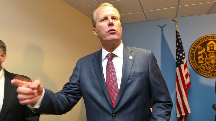 Mayor Kevin Faulconer could ax new inclusionary housing regulations.