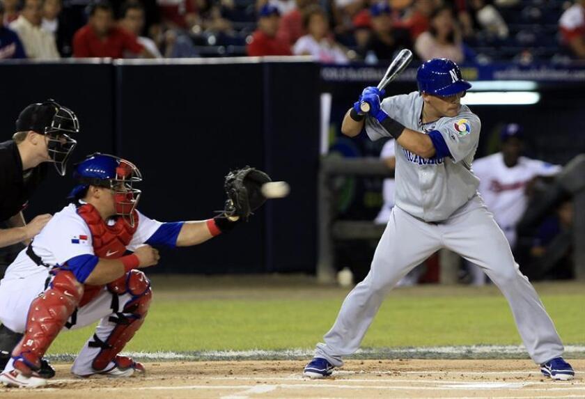 En la imagen, el jugador nicaragüense Everth Cabrera (d), extorpedero estelar de las Ligas Mayores (MLB). EFE/Archivo
