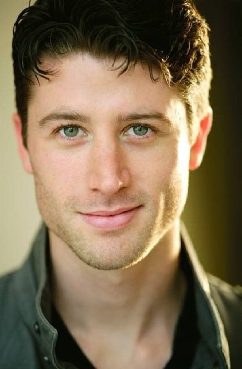 Brandon Davidson in 'Singin' in the Rain'