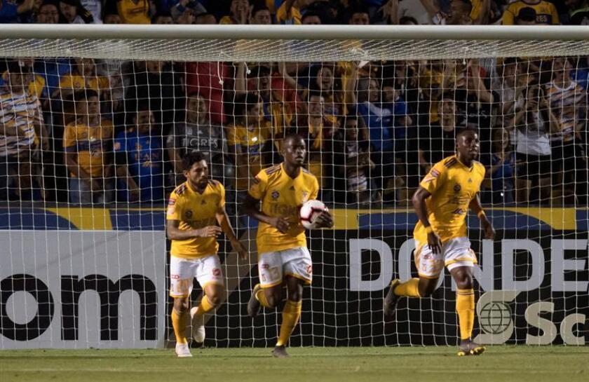 La victoria permite a los Tigres llegar al partido de vuelta con medio pase para las semifinales del máximo torneo de clubes de la Concacaf. EFE/Archivo