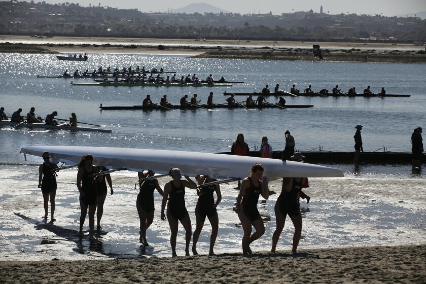 The annual San Diego Crew Classic regatta is among a number of events that will receive funding help next year from the city's hotelier-run Tourism Marketing District.