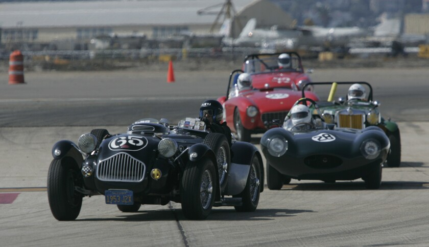 Racers compete in the 2007 Coronado Speed Festival.