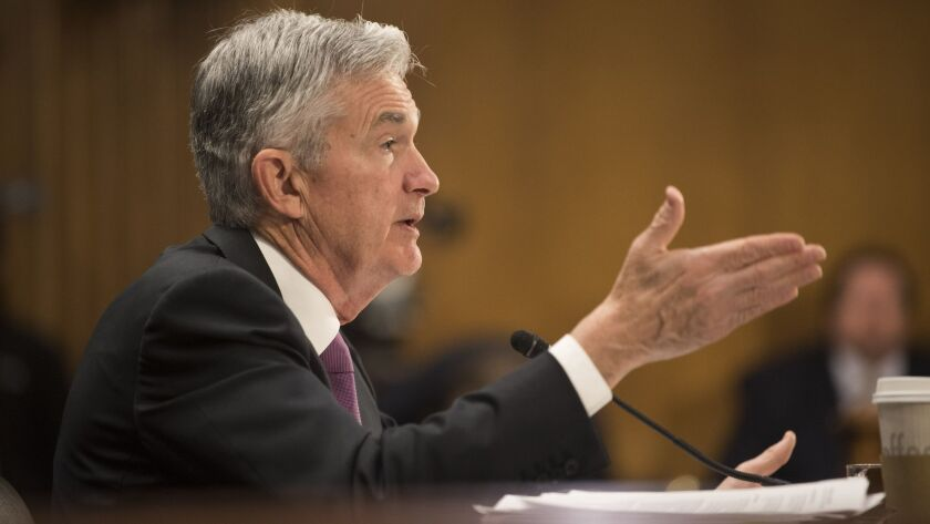 Federal Reserve Chairman Jerome Powell testifies before the Senate Banking, Housing and Urban Affair