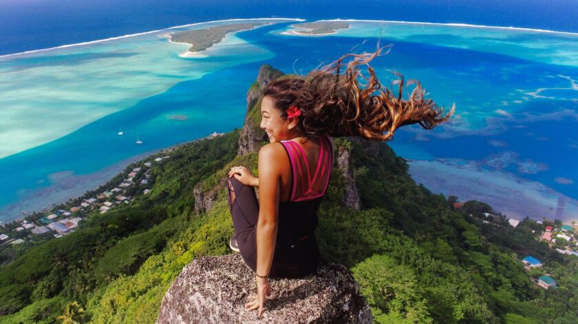 2017 summer photo issue cover: Maupiti, French Polynesia by Sara Wong, from San Marino, Calif.