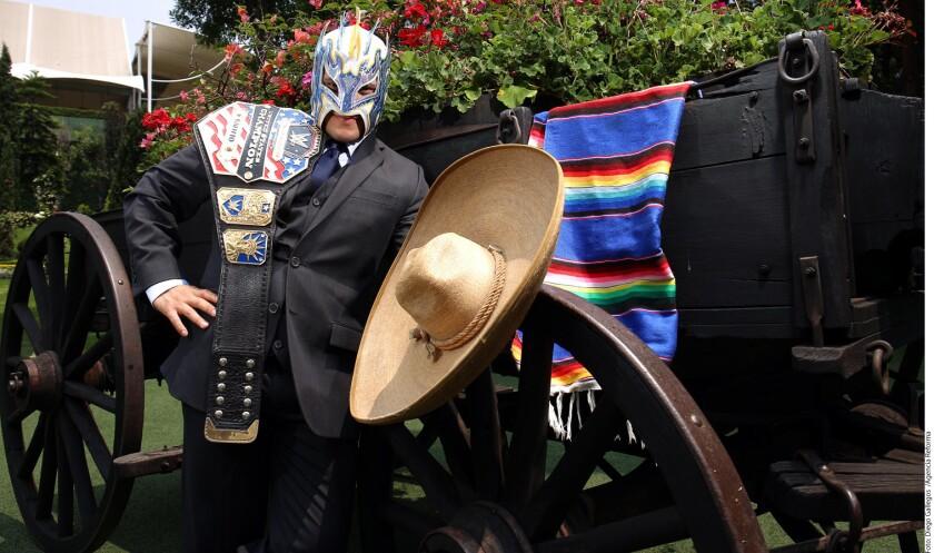 Ahora, Kalisto (foto) anhela unirse al reinado impuesto por varios mexicanos en WWE, pues ve en Rey Mysterio Jr. el ejemplo a seguir.