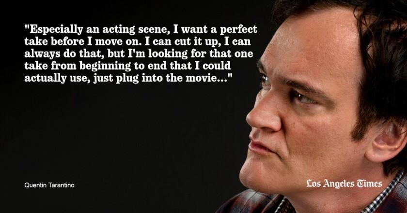 Quentin Tarantino quote