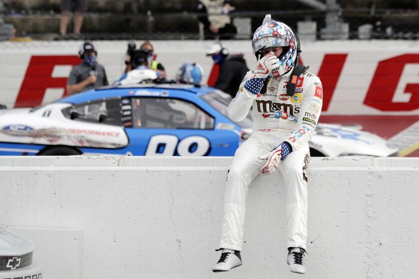 APTOPIX NASCAR Xfinity Darlington Auto Racing
