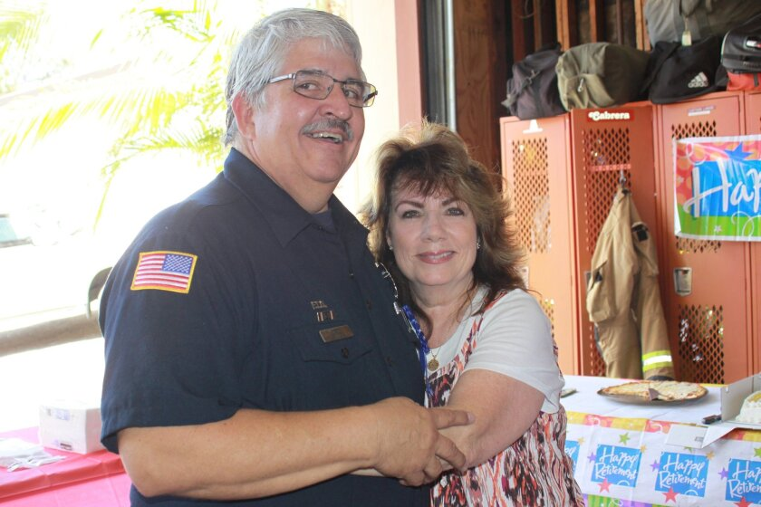 Brian Kidwell with his wife, Debbie