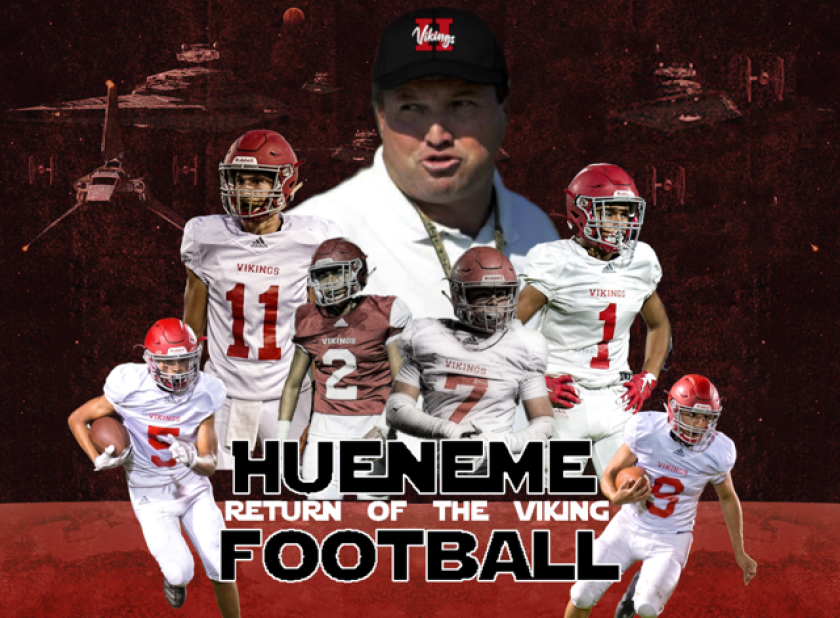 Hueneme first-year coach Jon Mack has been restricted to video calls with his players since March.