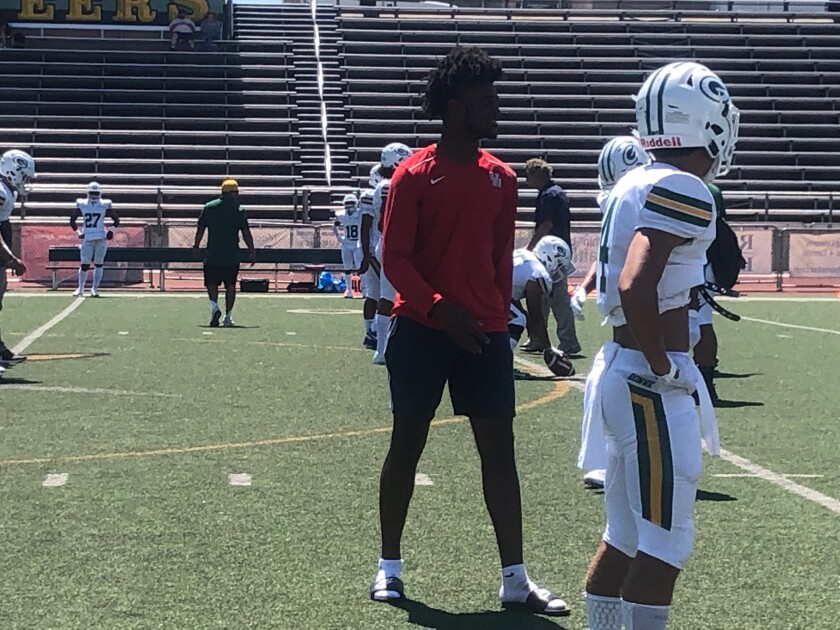 Traeshon Holden, a receiver for Narbonne who has missed the first two games while waiting for the CIF to rule on his eligibility, has been cleared to play for the Gauchos on Friday against St. Paul.