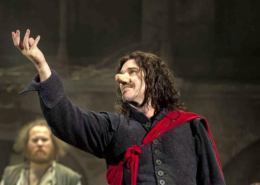 Douglas Hodge sees the value of shock in 'Cyrano de Bergerac'