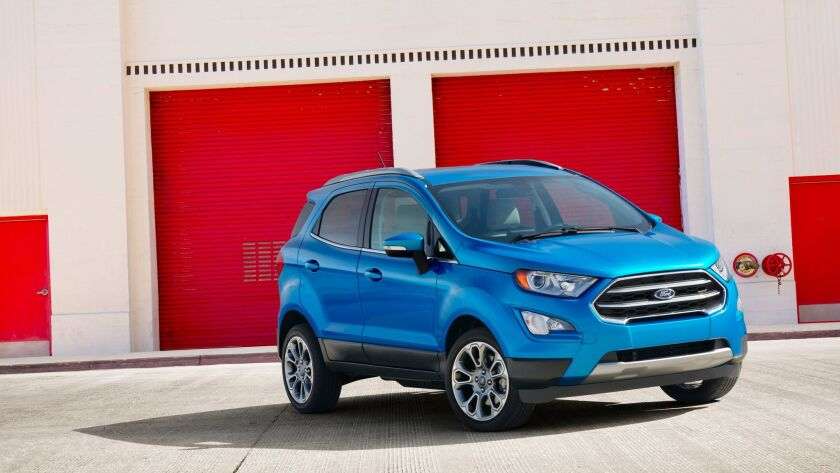 Ford EcoSport subcompact crossover