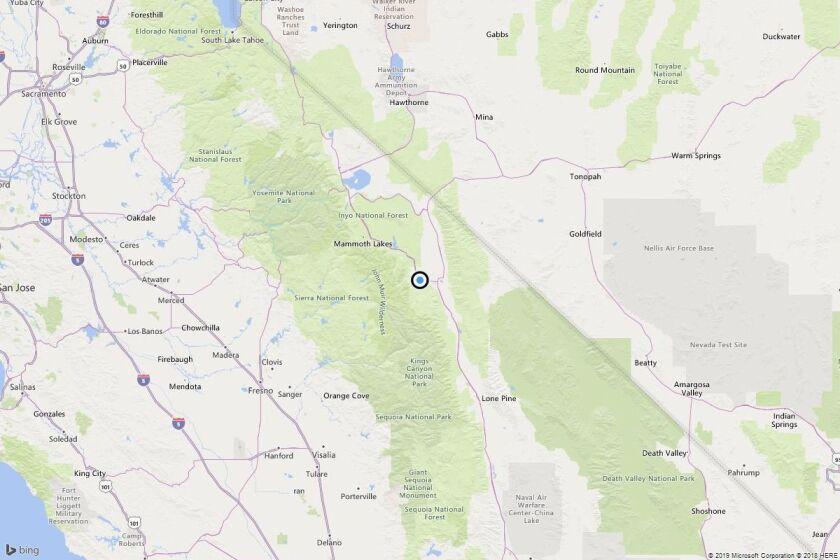 Earthquake: 3.6 quake strikes near Alta Vista, Calif.