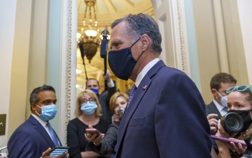 Sen. Mitt Romney, R-Utah