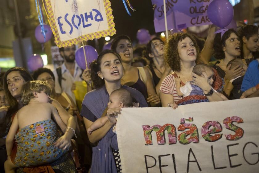 APphoto_Brazil International Women's Day
