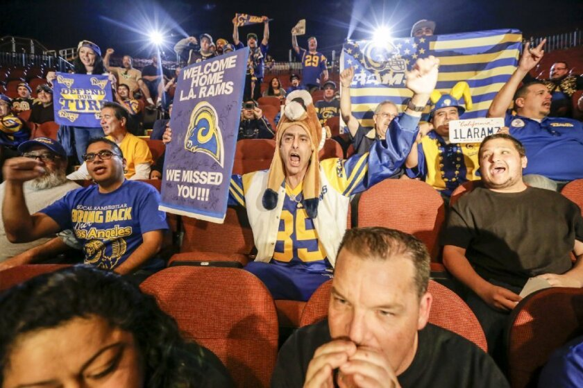 Rams get thousands of season-ticket deposits and 'could not be more pleased'