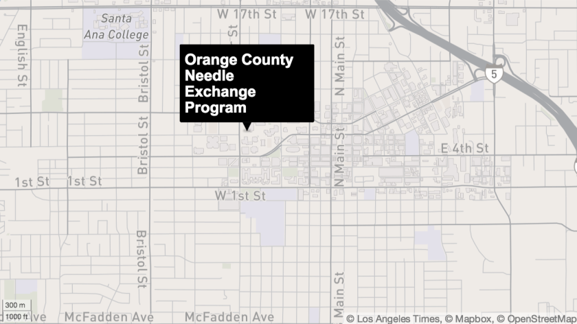 Orange County Needle Exchange Program