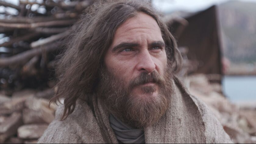 Joaquin Phoenix as ?Jesus? in Garth Davis?s Mary Magdalene. Credit: IFC Films