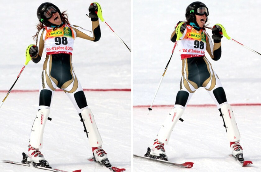 Jackie Chamoun naked shoot: Sexy Sochi Olympic skier