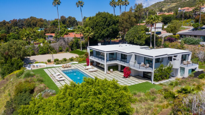 The home of actor Robert Conrad, who died in February, was listed at $5.195 million.