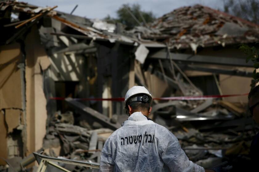 Gaza rocket attack