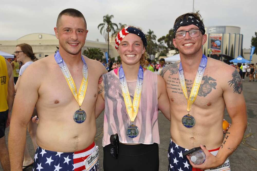 "Billed as ""San Diego's longest running tradition,"" runners braved the heat and enjoyed the views at the Balboa Park 8 Miler on Saturday, Aug. 4, 2018."