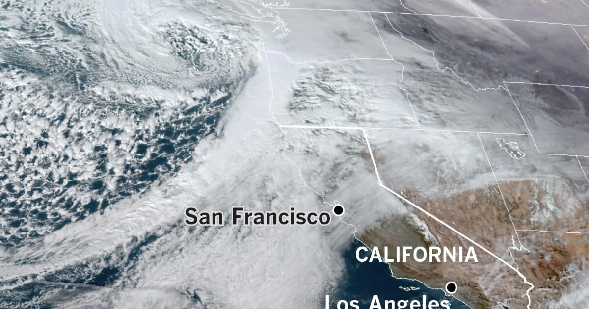 Παρά αυτή την εβδομάδα καταιγίδα, Βόρεια Καλιφόρνια είναι εποχιακή αναλογία της θερμοκρασίας παραμένει κάτω από το φυσιολογικό