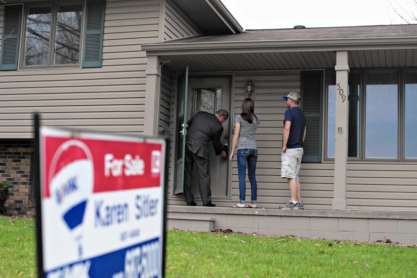 U.S. Existing Home Sales Fell in March