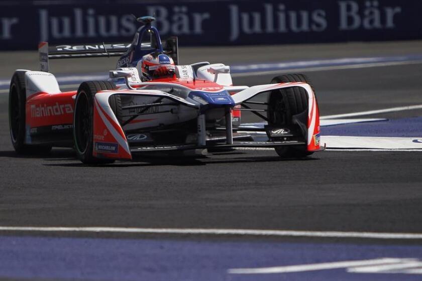 Rosenqvist logra la 'pole' en Ciudad de México