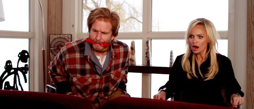 Review: A 'Family Weekend' wrapped into a hostage comedy