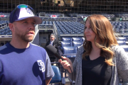 Padres infielder Ryan Schimpf talks about his journey, family, alligators & more