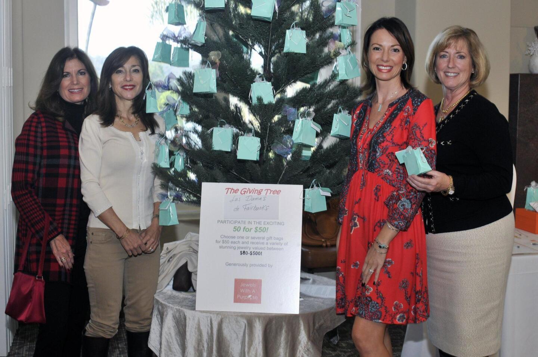 Colleen Plecha, Judy Rowles, Eliza Friedman of www.jewelswithapurpose.com, Dreamkeepers board member Carolyn Hickey