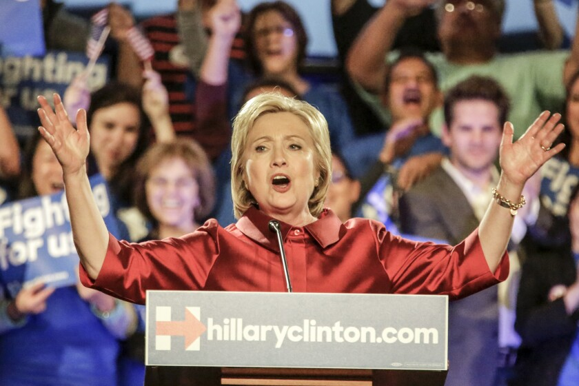 Clinton wins Nevada