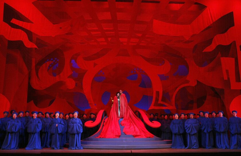 "San Diego Opera opens its 2011 season with Puccini's ""Turandot"""