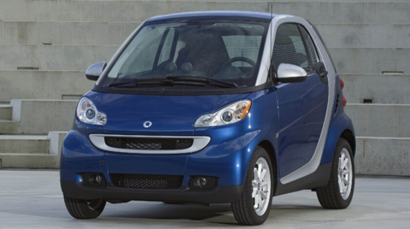 Mercedes Car Group's Smart fortwo