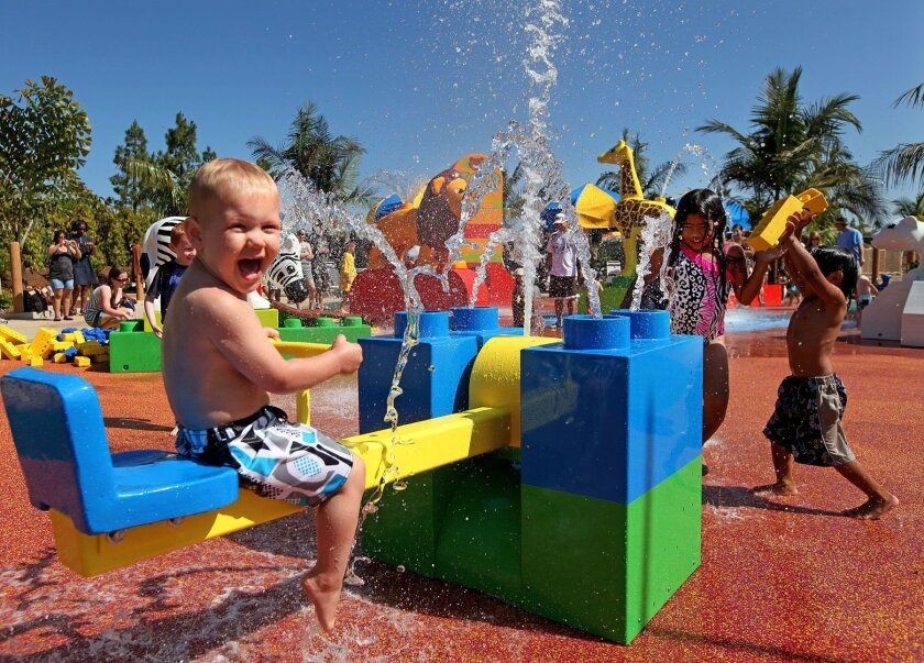 Legoland's three-year-old water park will grow by more than two acres next year when it introduces a new themed area tied to Lego's Legends of Chima product line.